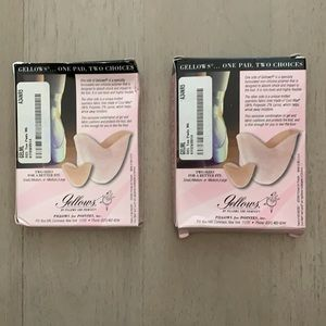 NWT Gellows Reversible Toe Pads (2)